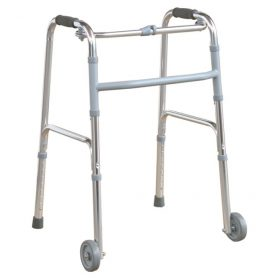 "4"" Front Wheels Folding Walker"