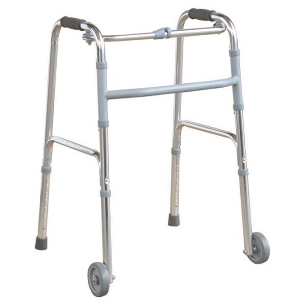 """4"""" Front Wheels Folding Walker"""