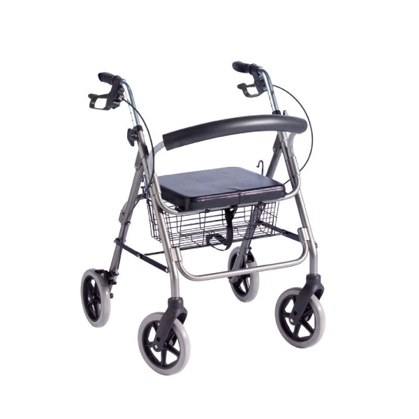 Rollator walking frame