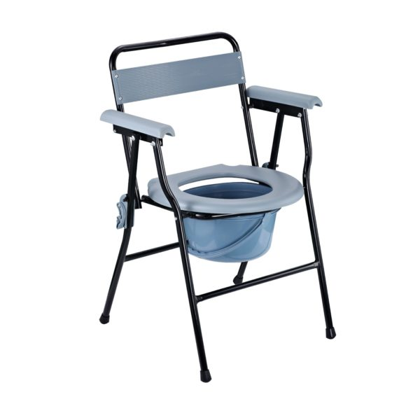 Foldable Commode Chair