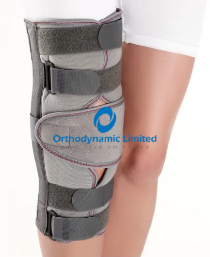 Pediatric knee immobilizer
