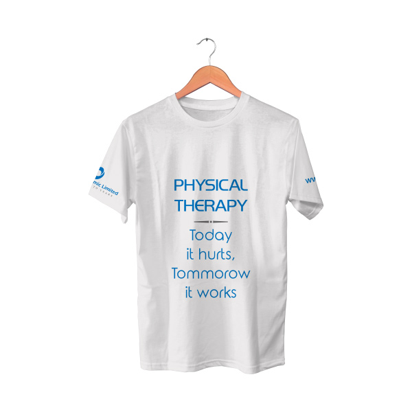 White T-Shirt | Physical Therapy