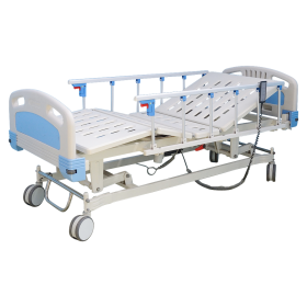 Three Crank Electrical Hospital Bed