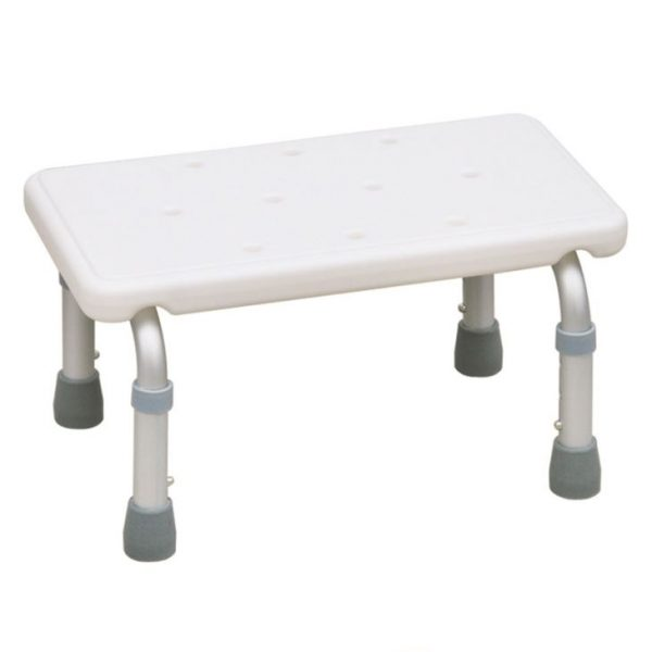 Adjustable Height Bath Stool