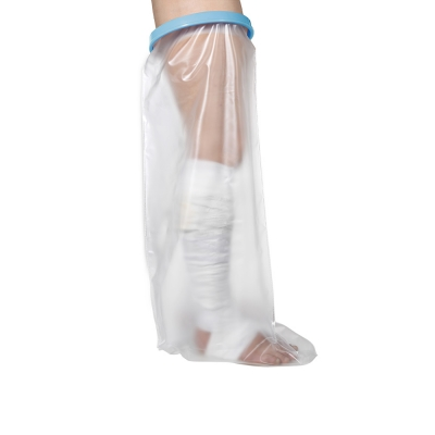Adult full-leg waterproof cast protector