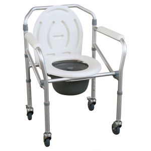 Aluminium Folding Commode Chair-JL696L