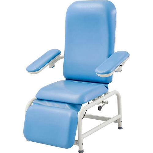 Manual blood transfusion chair