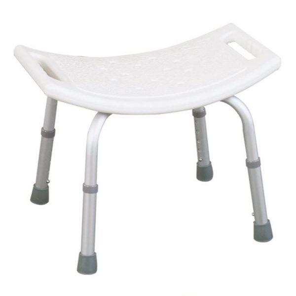 Ergonomically Designed Bathroom Bench With Adjustable Height