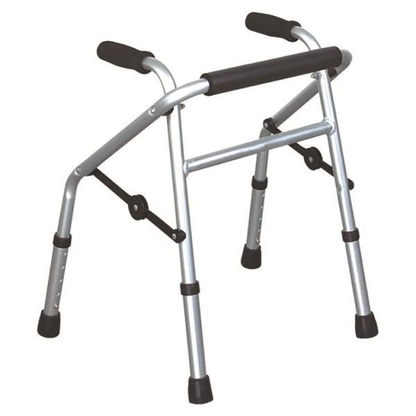 Folding Pediatric Walkers With Height Adjustable