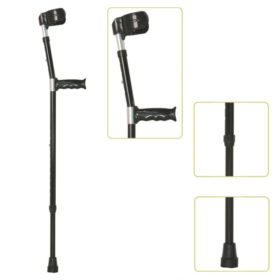Adult Height Adjustable Lightweight Elbow Crutches-JL923L