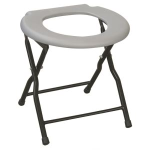 Simple Steel Commode Chair-JL898