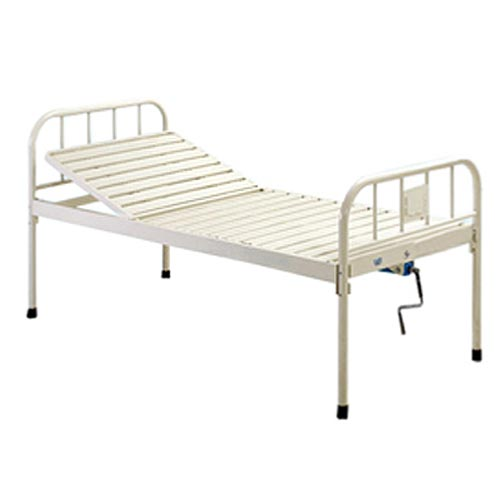 Single crank Manual Hospital Bed