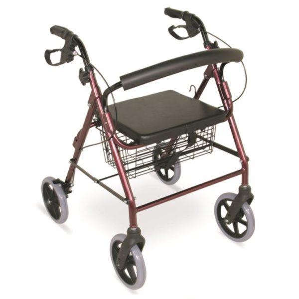 8 Inch Casters Lightweight Rollator