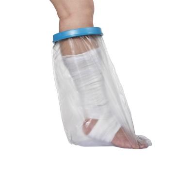 Adult half-leg waterproof cast protector