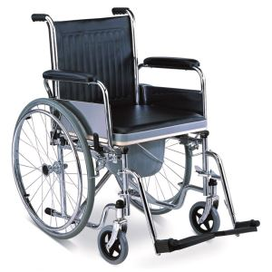 Commode Wheelchair-JL682 (Economic)