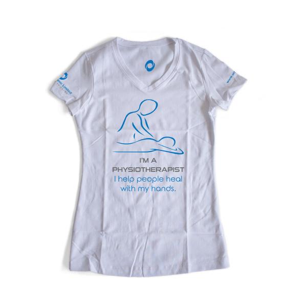 White T-Shirt | Help people heal