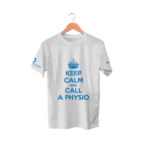 White T-Shirt | Keep Calm