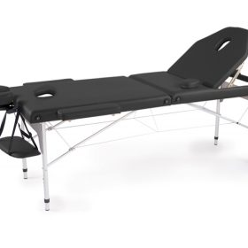 Portable Fold Massage Bed - Metallic