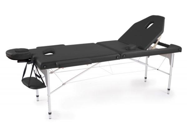 Portable Fold Massage Bed - Metallic