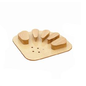 Medical Wooden Finger Correction Board