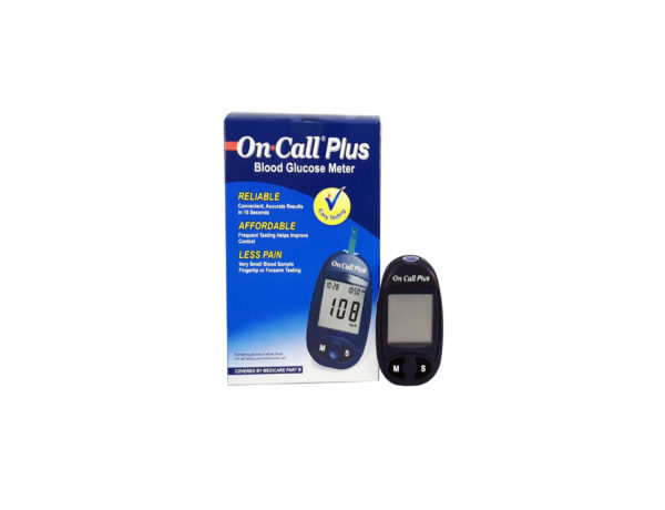 On-call plus glucometer