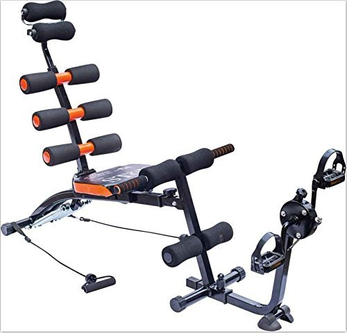 Six Pack Care Abs Exercise Bench With Cycle Pedals