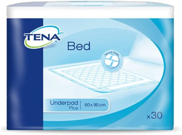 Tena Bed Plus 60x90cm Pack of 30 sheets