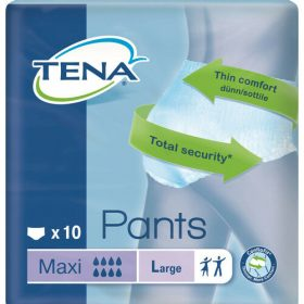 Tena Disposable Pull-up Adult Diapers L (10 PCs Unisex)