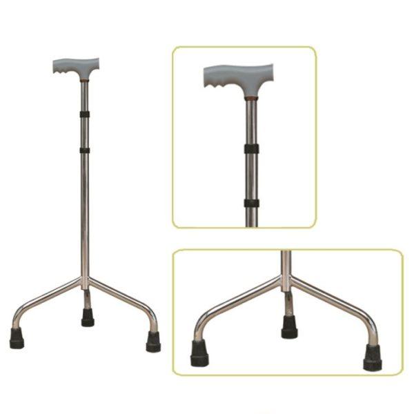 Tripod Crutch Stick