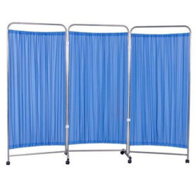 3 Panel folding hospital ward screen (Privacy Bed screen)