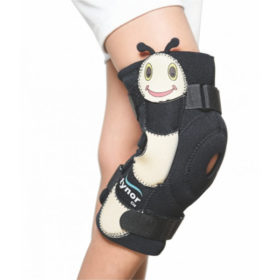 Hinged knee wrap child (neoprene)