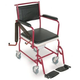 Steel Commode Wheelchair